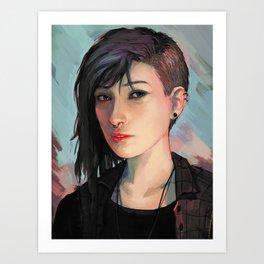 chloe price Art Print