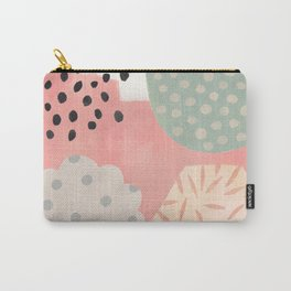 Dotty Candy Shape Scape Carry-All Pouch