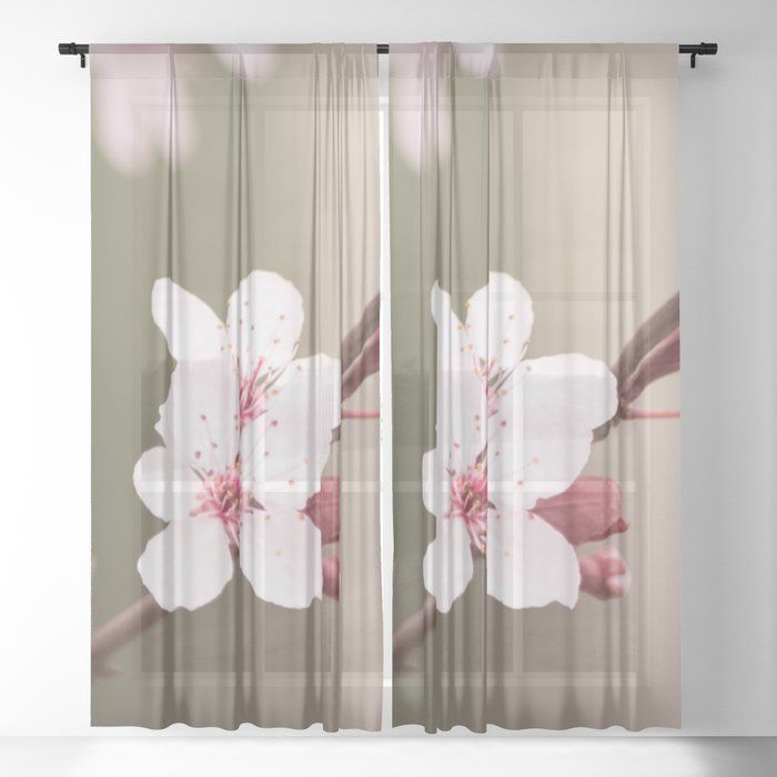 Plum's Promise Sheer Curtain