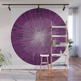 spiky purple Wall Mural