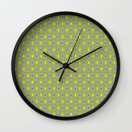 Kiwi Pattern Wall Clock