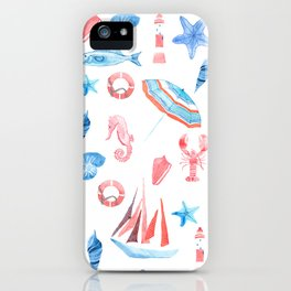 On the seaside iPhone Case