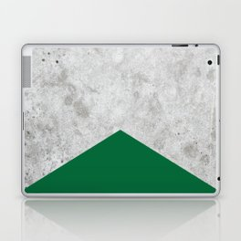 Concrete Arrow Forest Green #326 Laptop & iPad Skin