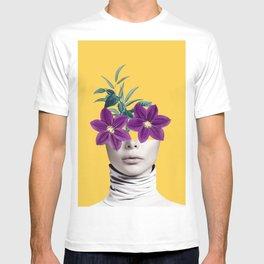 Floral Portrait 2 T-shirt