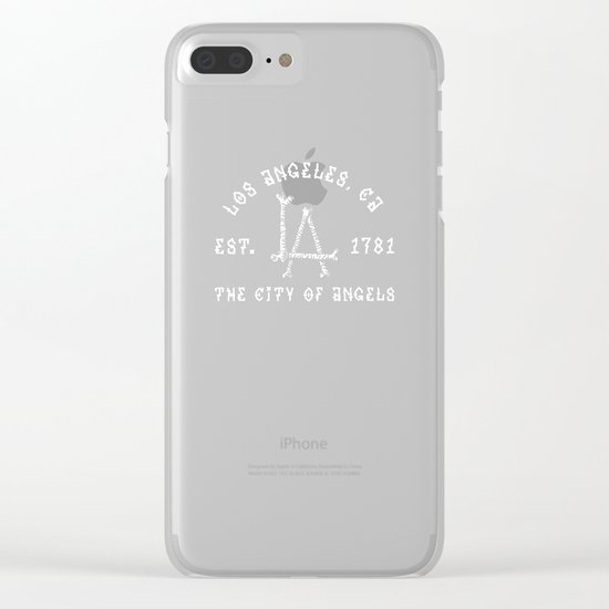 The City of Angels Clear iPhone Case