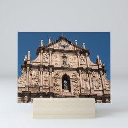 Ruins of Saint Paul's, Santo António, Macau Mini Art Print
