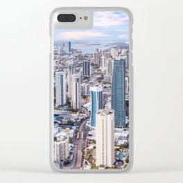 Surfers Paradise high rise skyline in Gold Coast, Queensland, Australia Clear iPhone Case