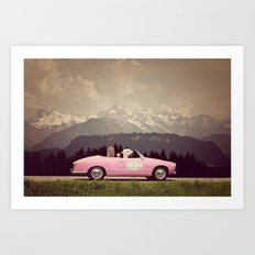 NEVER STOP EXPLORING VII Art Print