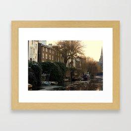 Sunset In Camden Framed Art Print