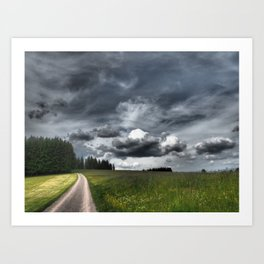 Path Through Meadow, Black Forest - Landscape Photography Art Print