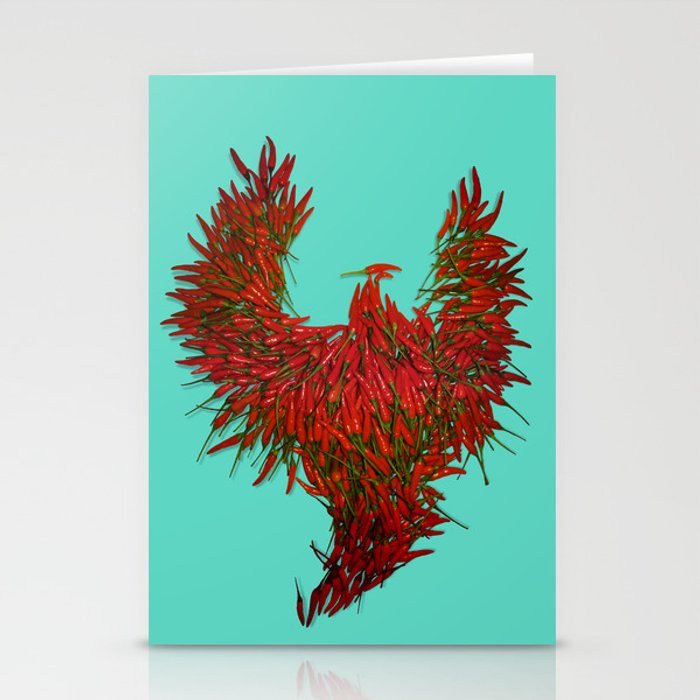 Hot Wings! Stationery Cards