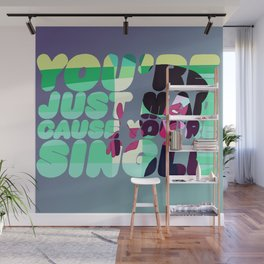 garnet - stronger than you Wall Mural