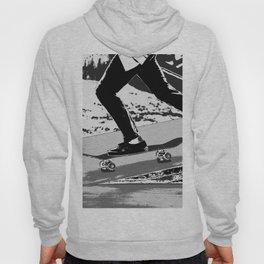 The Push-off  - Skateboarder Hoody