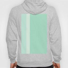 Mint color, minimalistic, stripes, simple Hoody