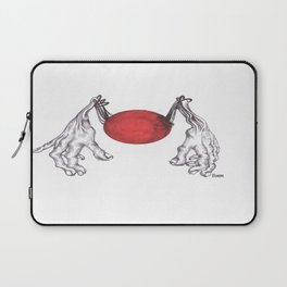 Hand Ball Laptop Sleeve