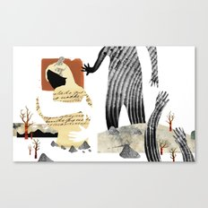 Gabriela Mistral 1 era prosa Canvas Print