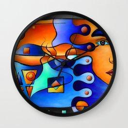 Terramessia - fantasy beauty Wall Clock