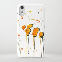 Clownfish - Watercolor Painting iPhone Case
