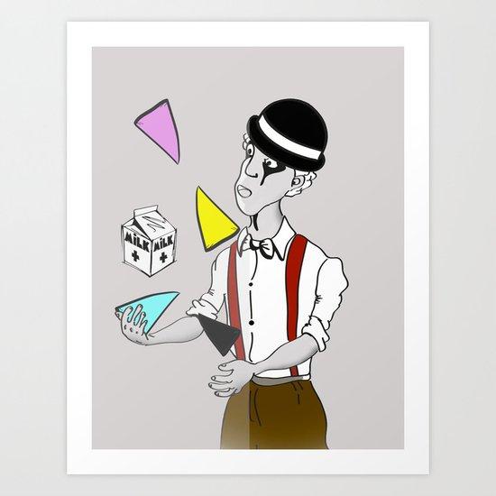 Alex DeLarge InQuadri Art Print