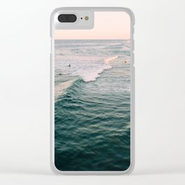 Sea Poem #3 Clear iPhone Case