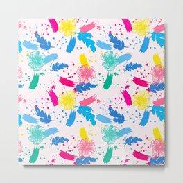 Colorfull Pop Art Pattern Metal Print