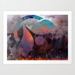 NEA Up in Smoke Art Print