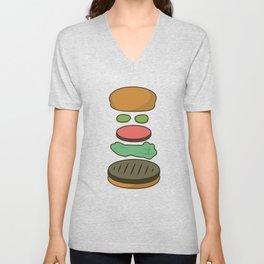 Bob's Burgers Hamburger Parts 2 Unisex V-Neck
