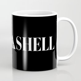 Ghost In The Shell Title (White) Coffee Mug