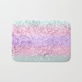 Unicorn Girls Glitter #8 #shiny #pastel #decor #art #society6 Badematte