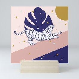 Tiger and the Sun II. Mini Art Print