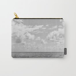 Monochrome Ocean View III Carry-All Pouch