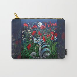 Cat in the Night Carry-All Pouch