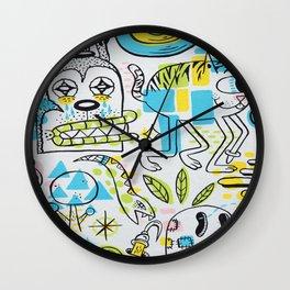 Shape Shifters Wall Clock