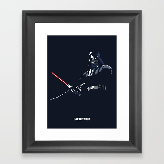 Star Wars - Darth Vader Framed Art Print