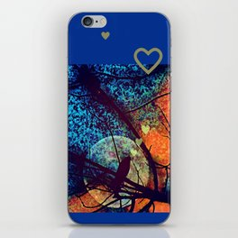 Chirping By Moonlight iPhone Skin
