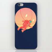 astronaut iPhone & iPod Skins featuring Astronaut by chyworks