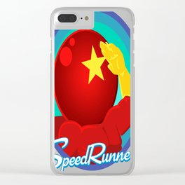 Cosmonaut-Comrade Clear iPhone Case