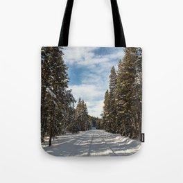 Yellowstone National Park - Grand Loop Road Tote Bag