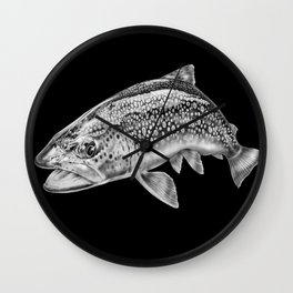 Brown Trout Wall Clock
