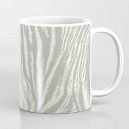 Tiger print Light Grey Coffee Mug