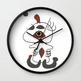 Joan Miro - Woman and Bird In The Night Wall Clock