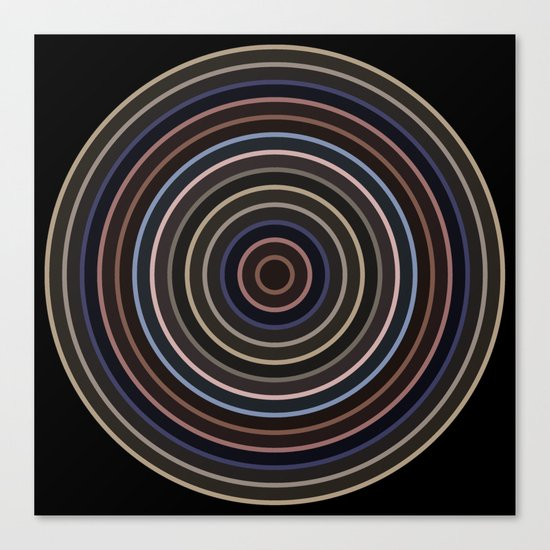 Colorful circle IV Canvas Print