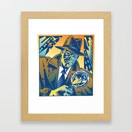 Private Eye Framed Art Print