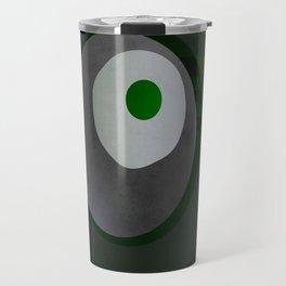 Fired egg & a pea Travel Mug