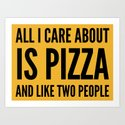 PIZZA & LIKE TWO PEOPLE by creativeangel