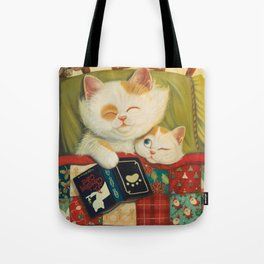 The cozy moment Tote Bag