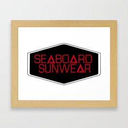 Seaboard Sunwear  Framed Art Print