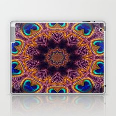 Peacock Fan Star Abstract Laptop & iPad Skin
