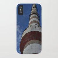 thanos iPhone & iPod Cases featuring tower by Thanos Charisis-Photography