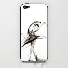 Dance Drawing iPhone Skin